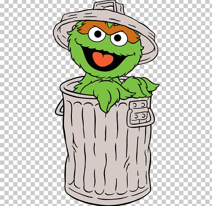 Oscar The Grouch Big Bird Elmo Cookie Monster Ernie PNG, Clipart.
