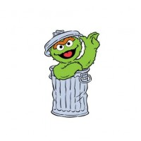 oscar the grouch clipart.