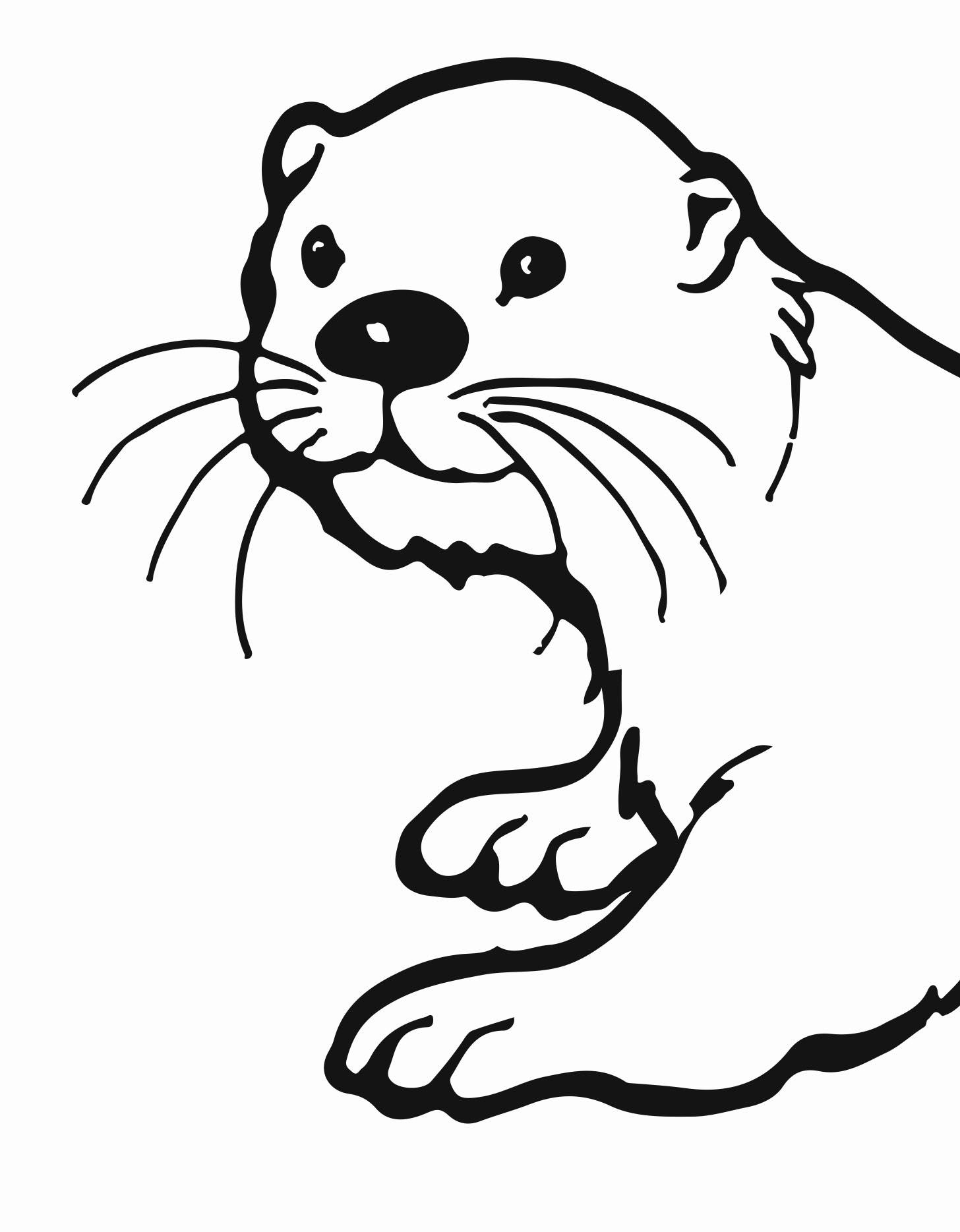 River Otter Clipart.