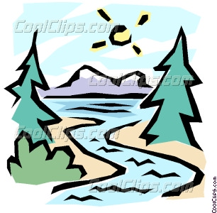 The great outdoors Vector Clip art.