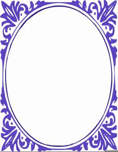 Oval Frame Clipart.