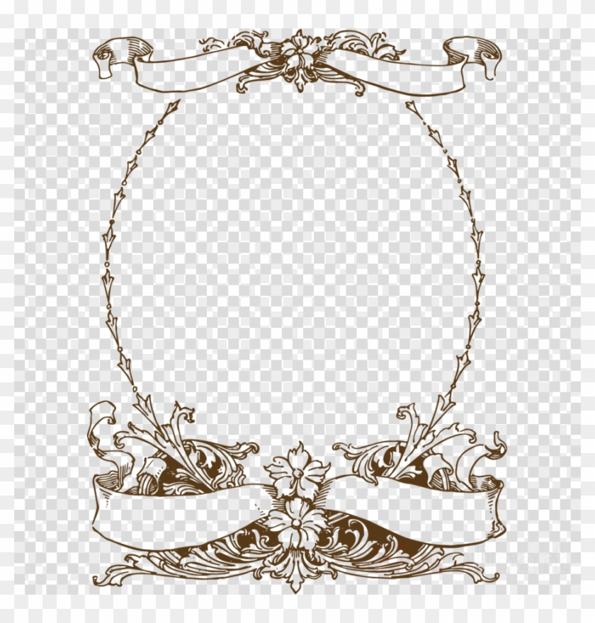 Oval Frame Pink Clipart Borders And Frames Picture, HD Png Download.