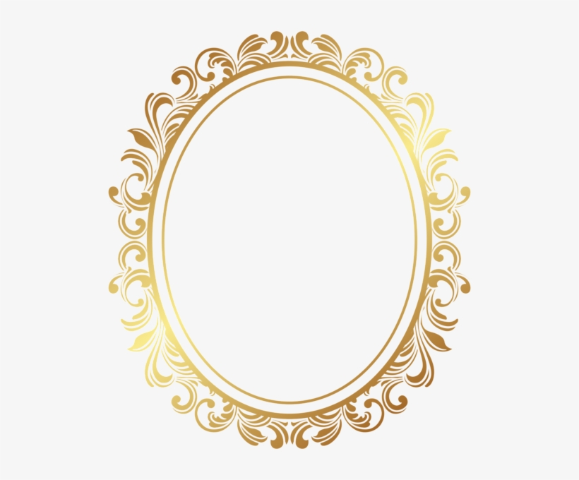 Oval Border Png PNG Images.
