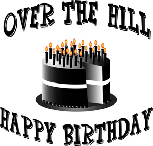 44+ Over The Hill Clip Art.