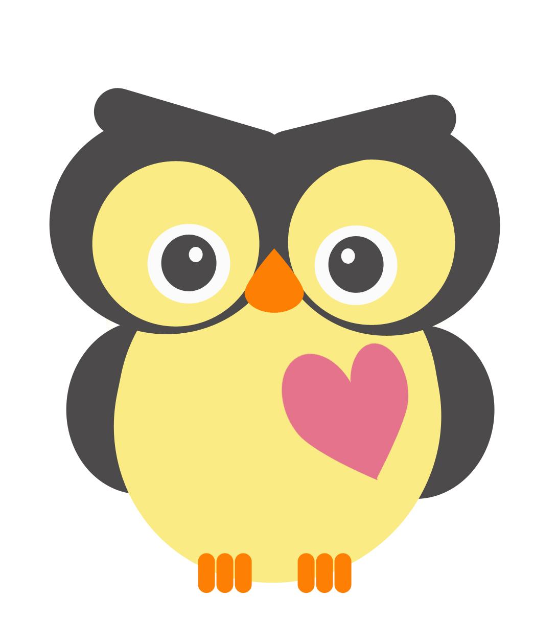 Owl clip art 3.