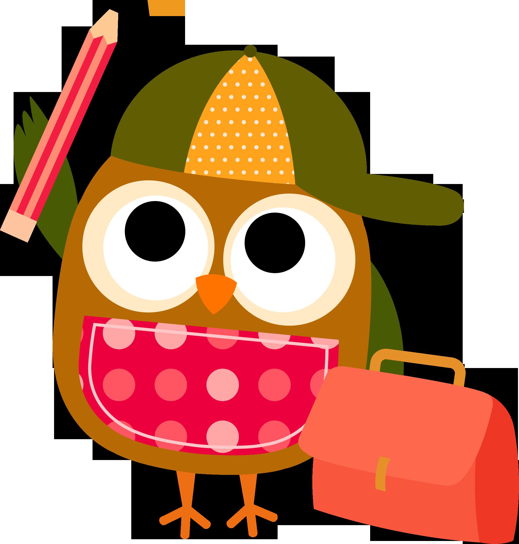 Best Smart Owl Clip Art #18319.