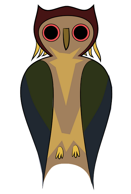 Cute owl clipart. Free download..
