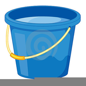 Water Pail Clipart.