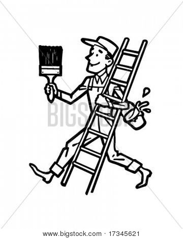Painter Ladder.