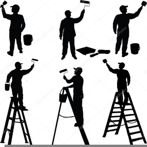 Clipart Pictures Of Painters.