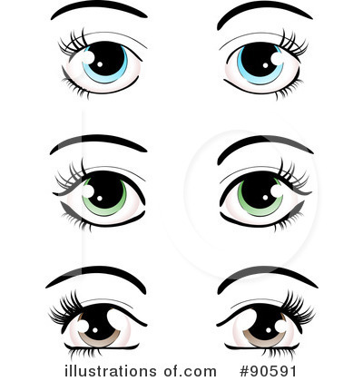 Eyes Clipart #90591.