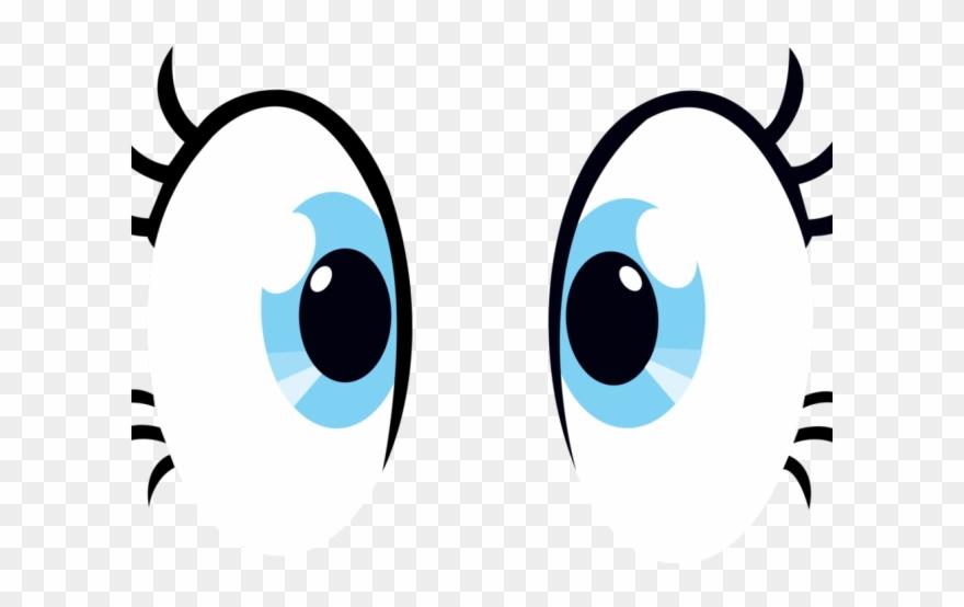 Hazel Eyes Clipart Pair.
