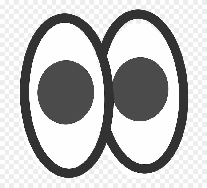 Eye Clipart Pair.