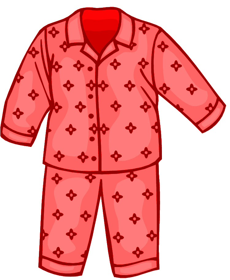 Pajamas clipart 6 » Clipart Station.