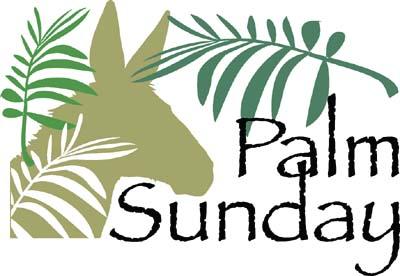 90+ Palm Sunday Clip Art.