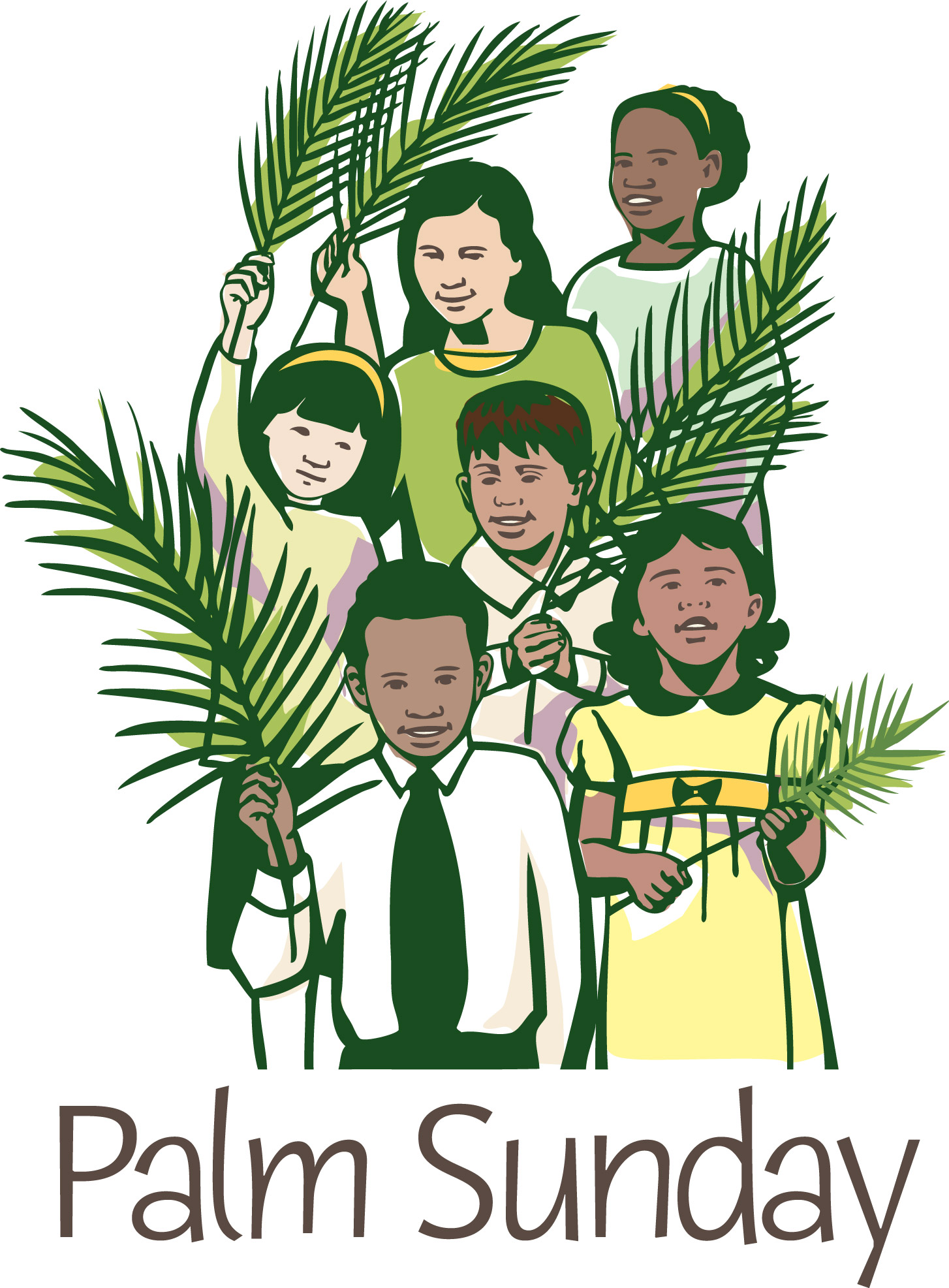97+ Palm Sunday Clip Art.