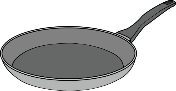 Top 60 Frying Pan Clip Art Vector Graphics And Illustrations IStock.
