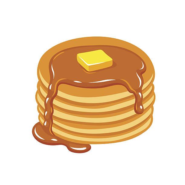 Best Pancake Illustrations, Royalty.