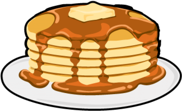Pancake Clipart Transparent Background.