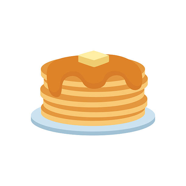 Pancakes clipart 5 » Clipart Station.