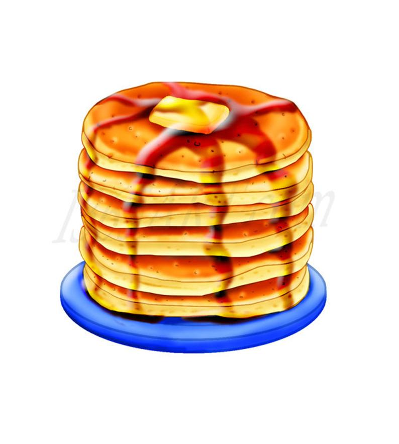 50% OFF Pancake Clipart, Pancake Clip art, Breakfast clipart, Digital,  Illustration, Scrapbooking, Graphics, Food, Meals, 300 DPI, Download.