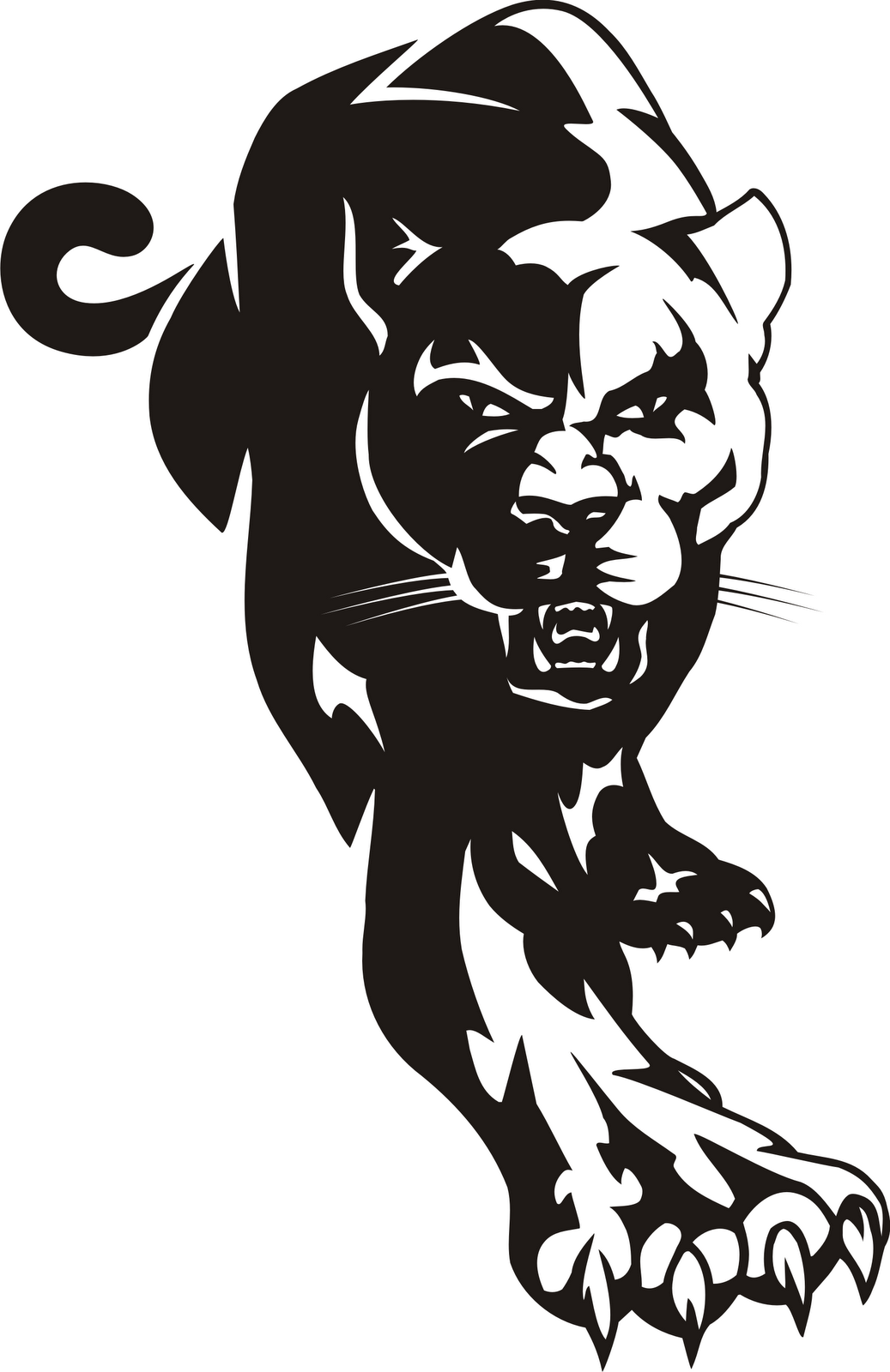 Panther Clip Art Clipart.