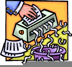 Paper Shredder Clipart.