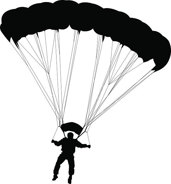 Best Paratrooper Illustrations, Royalty.