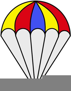 Egg Parachute Clipart.