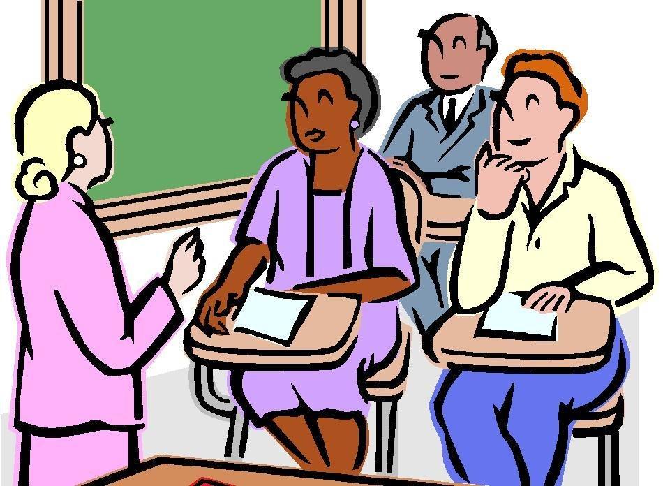Parent Meeting Clip Art free image.