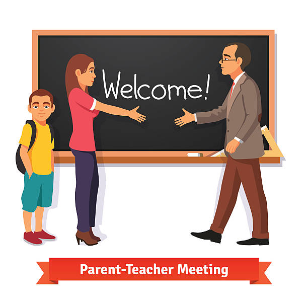Best Parent Teacher Conference Illustrations, Royalty.
