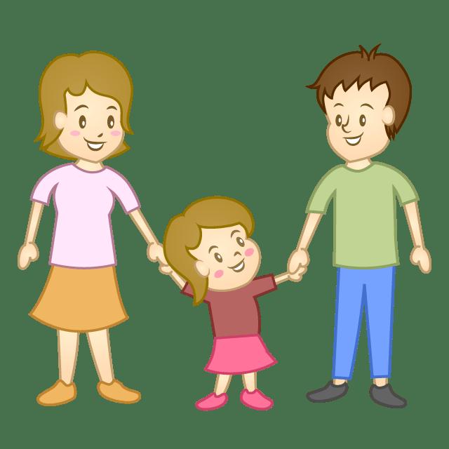 Child with parents clipart 4 » Clipart Portal.