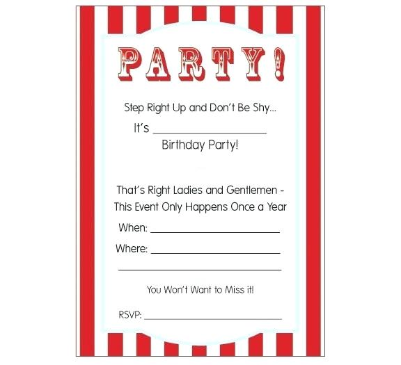 art birthday party invitation template.