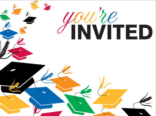 Graduation Party Invitations Clipart Free Clipart.