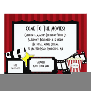 Free Clipart For Party Invites.