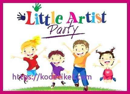 free art birthday party invitations.