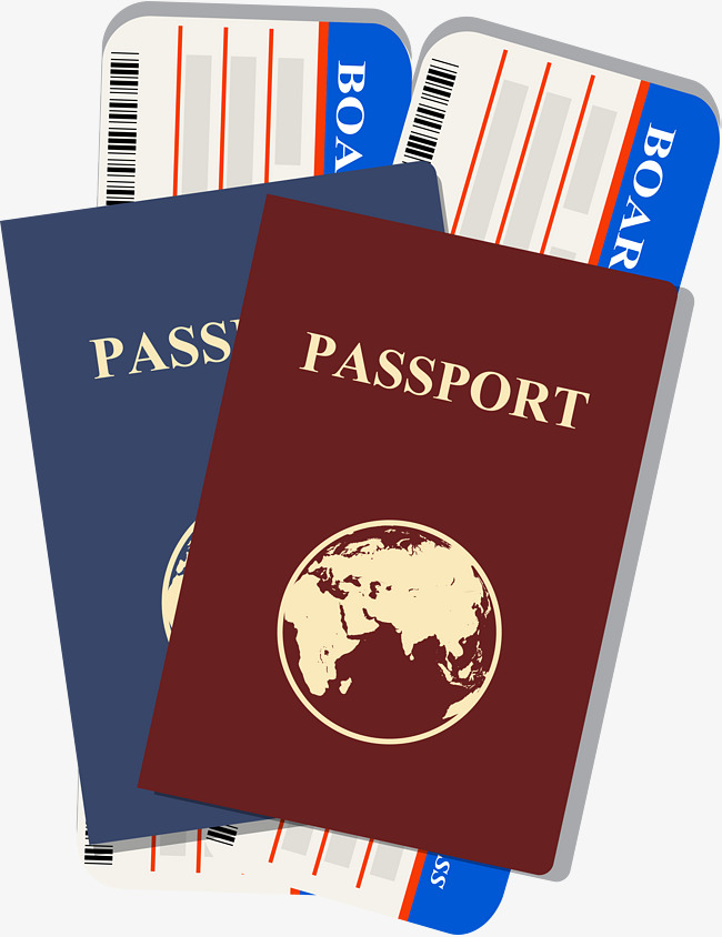 Download passport clipart Passport Airline ticket Clip art.