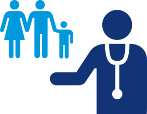 Doctor And Patient Blue Clip Art at Clker.com.