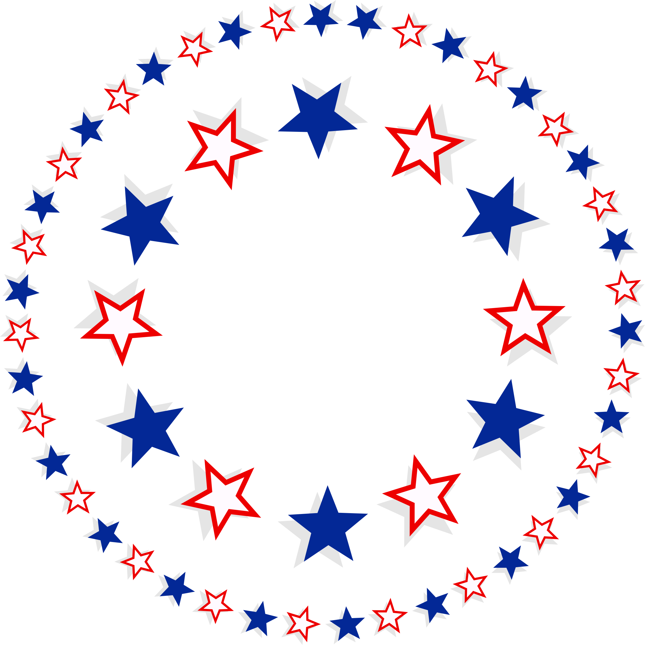 Download Clipart Patriotic Stars Free Download Png Clipart PNG Free.