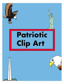 National symbols / America / Patriotic clipart.