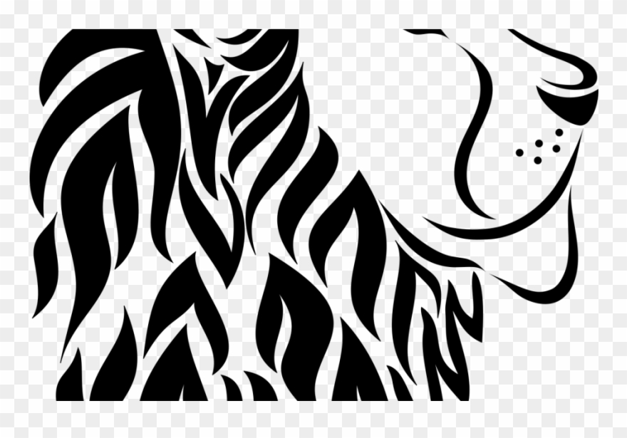 Lion Scroll Saw Patterns Free Clipart (#4160402).
