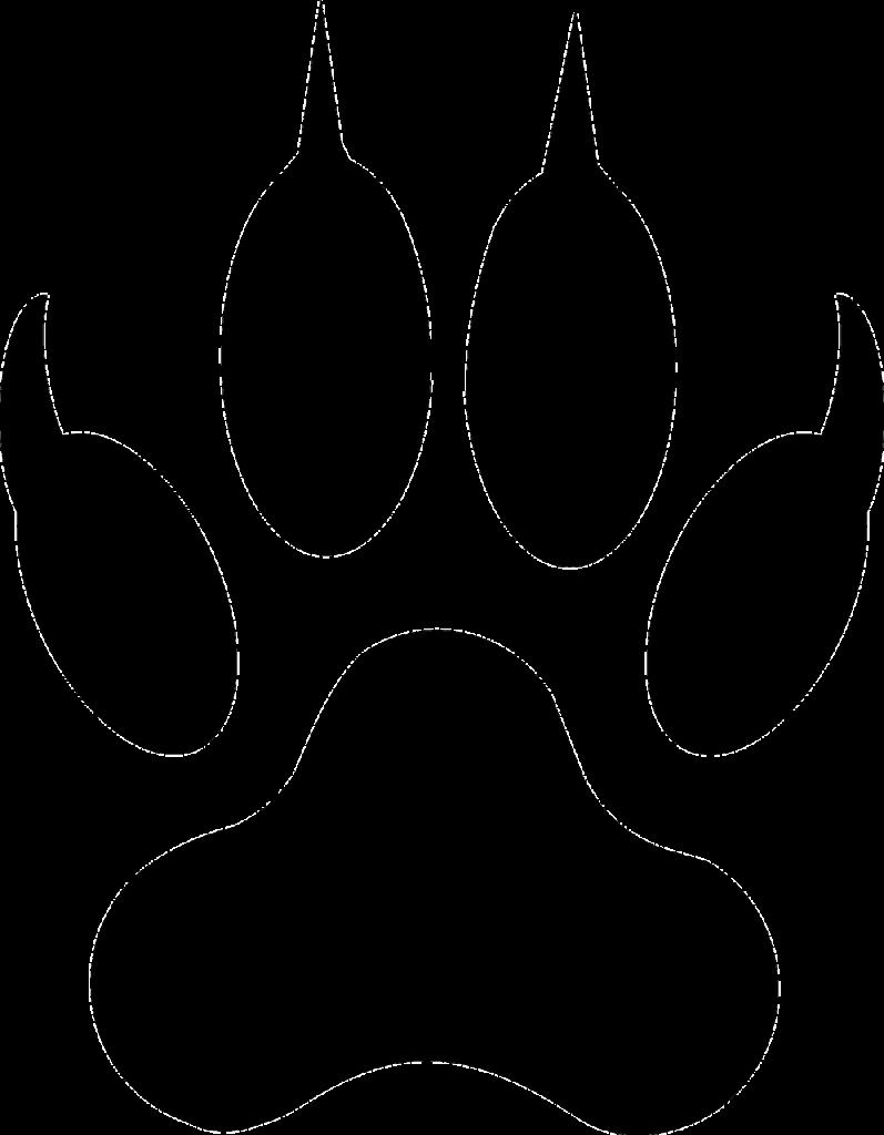 Dog Cat Paw Coyote Clip art.