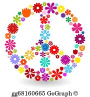 Peace Sign Clip Art.