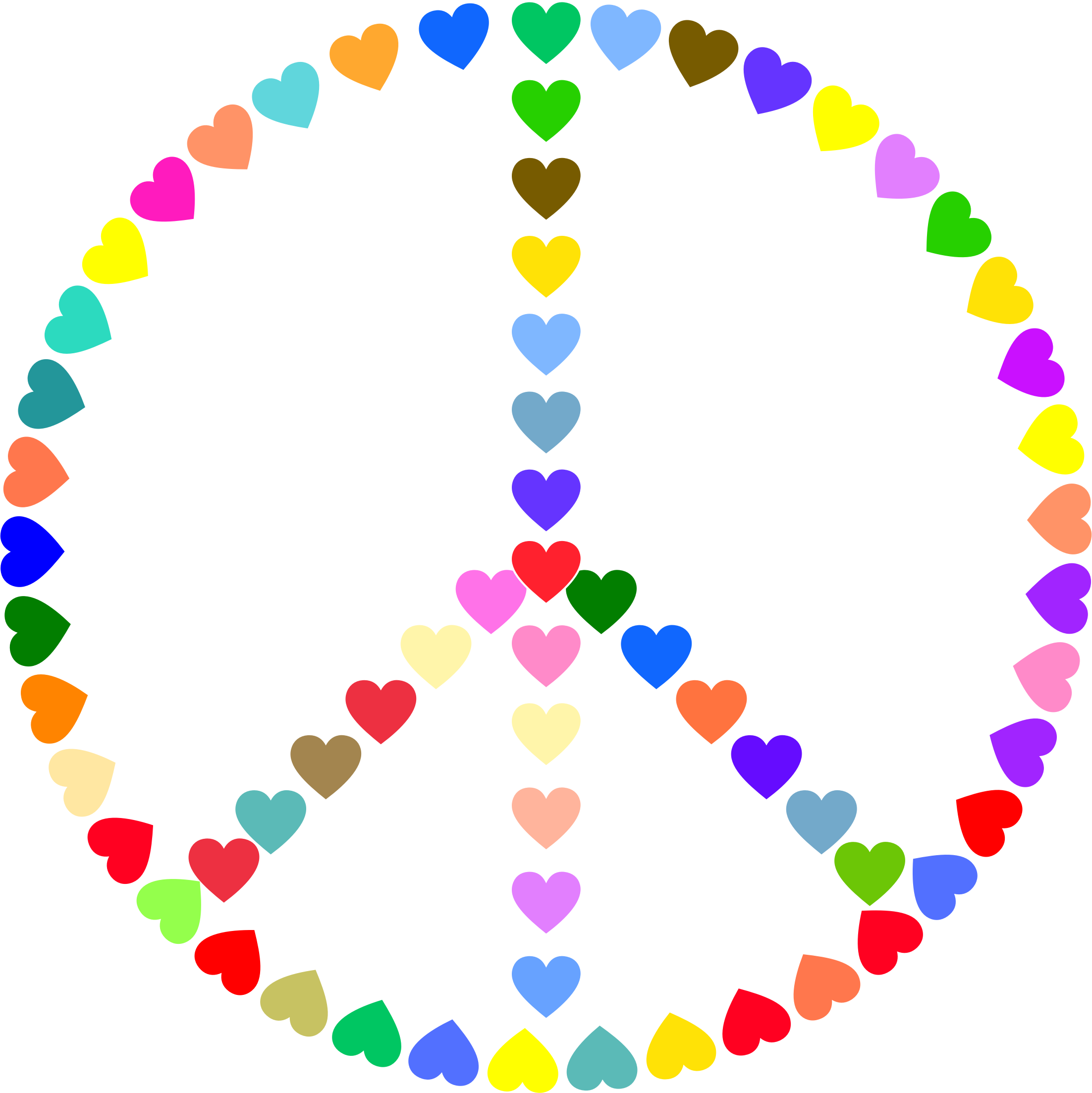 Peace Sign Clipart Peace And Love.
