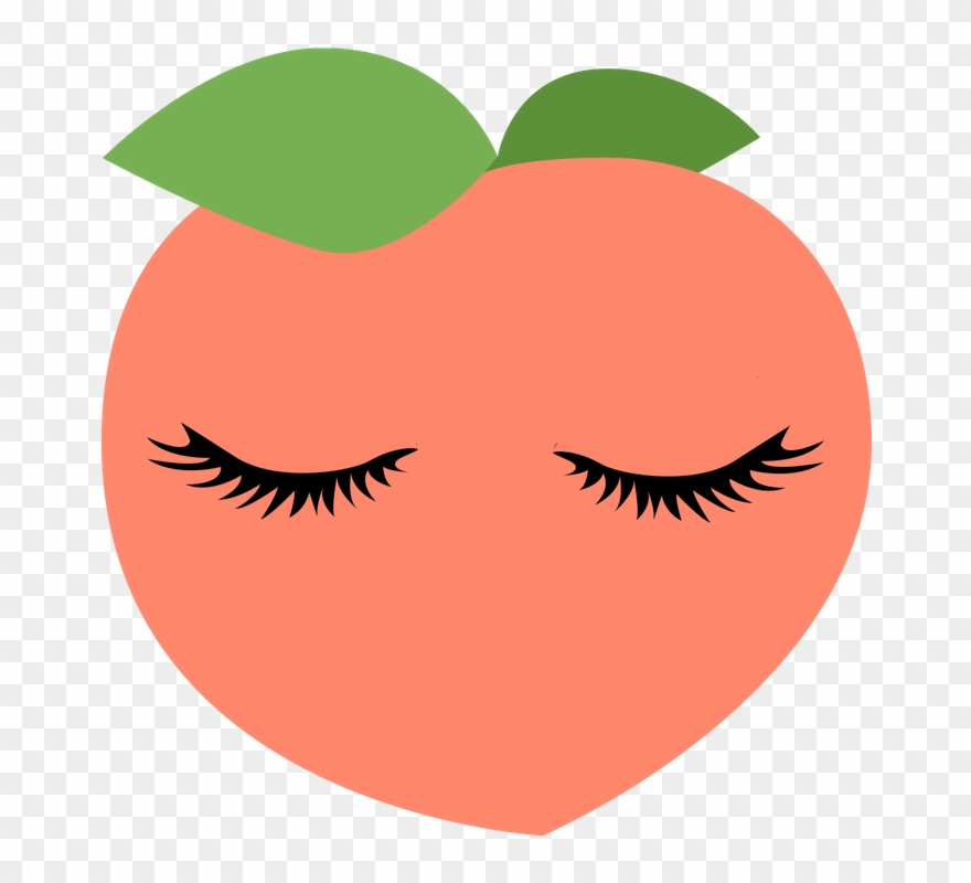 Picture Library Download Toronto Extensions Peach Lashes Clipart.