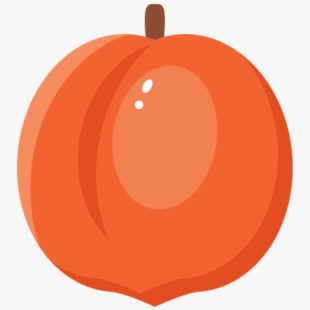 Jpg Transparent Download Peaches Clipart Stem.