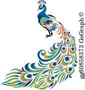 Peacock Clip Art.