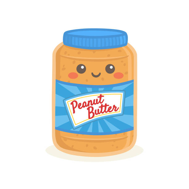 Best Peanut Butter Illustrations, Royalty.