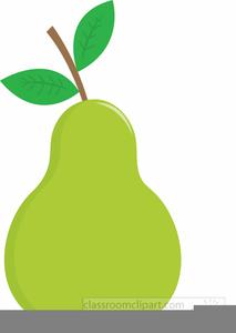 Free Clipart Pear.