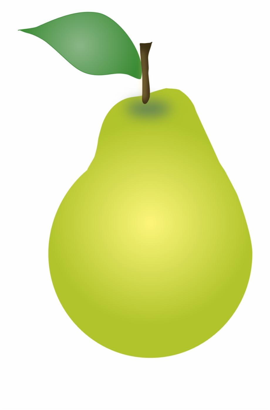 Cute Pear Clipart.